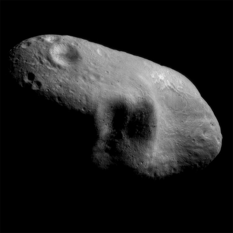 Caption: Eros, Credit: NASA