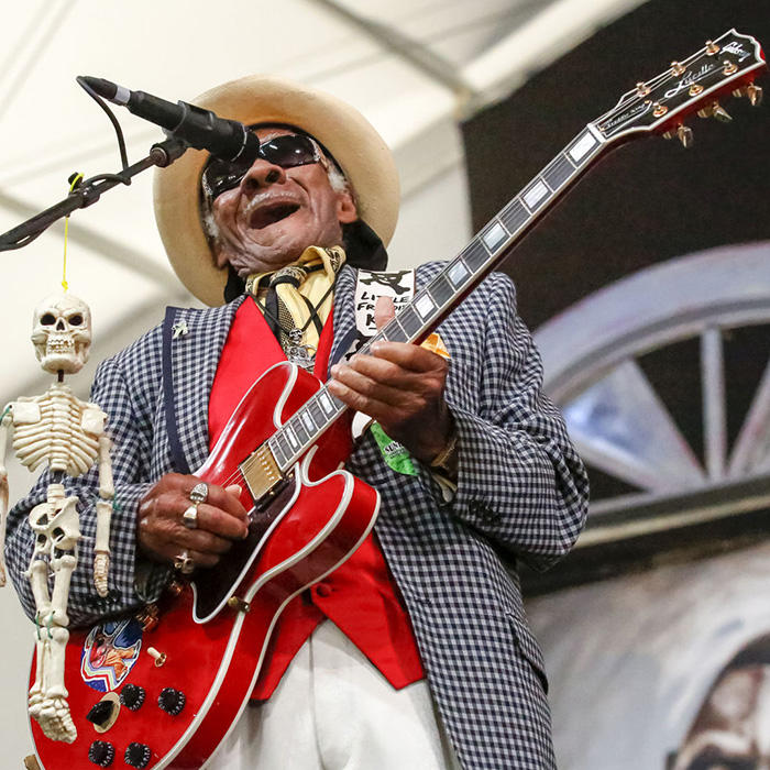 Caption: Little Freddie King