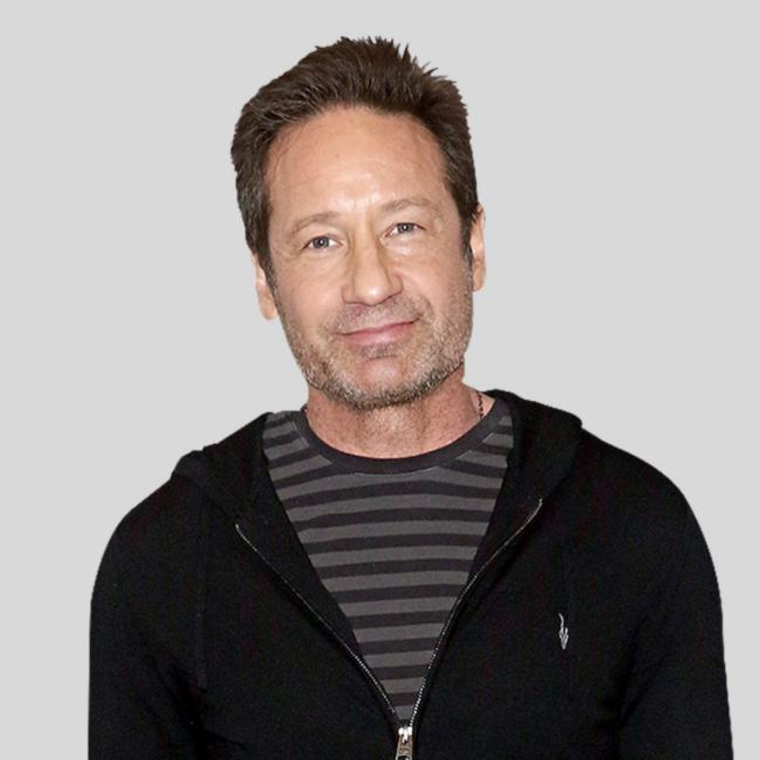 Caption: David Duchovny