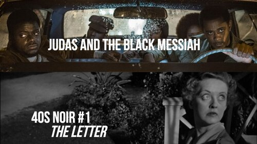 Caption: 'Judas and the Black Messiah' / 'The Letter' (40s Noir #1)