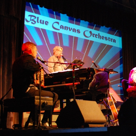 Caption: Blue Canvas Orchestra, Credit: Big Top Chautauqua
