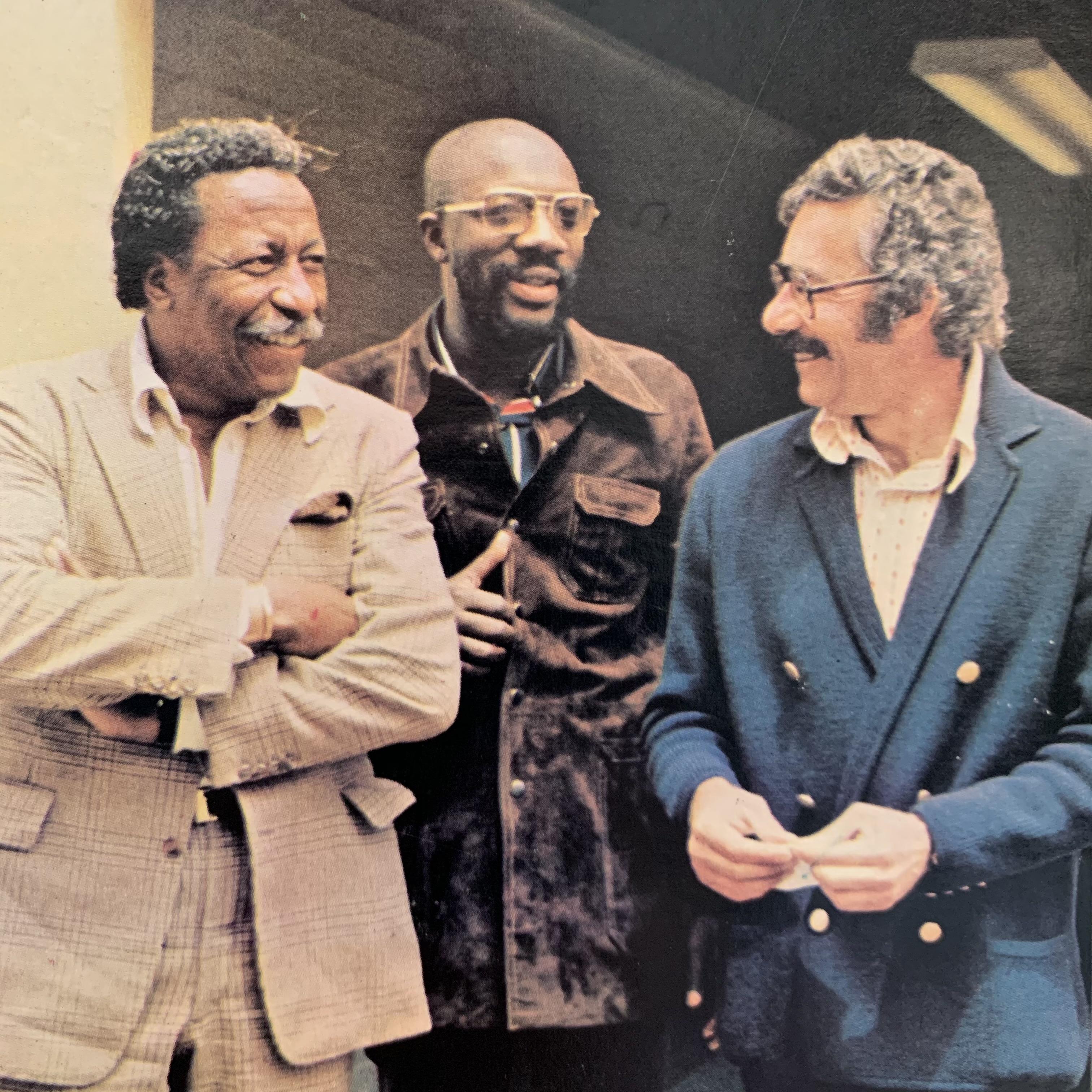 Caption: Gordon Parks, Isaac Hayes, Earnest Tidyman, Credit: Courtesy of MGM