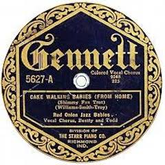 Caption: Red Onion Jazz Babies , Credit: 78 RPM Record