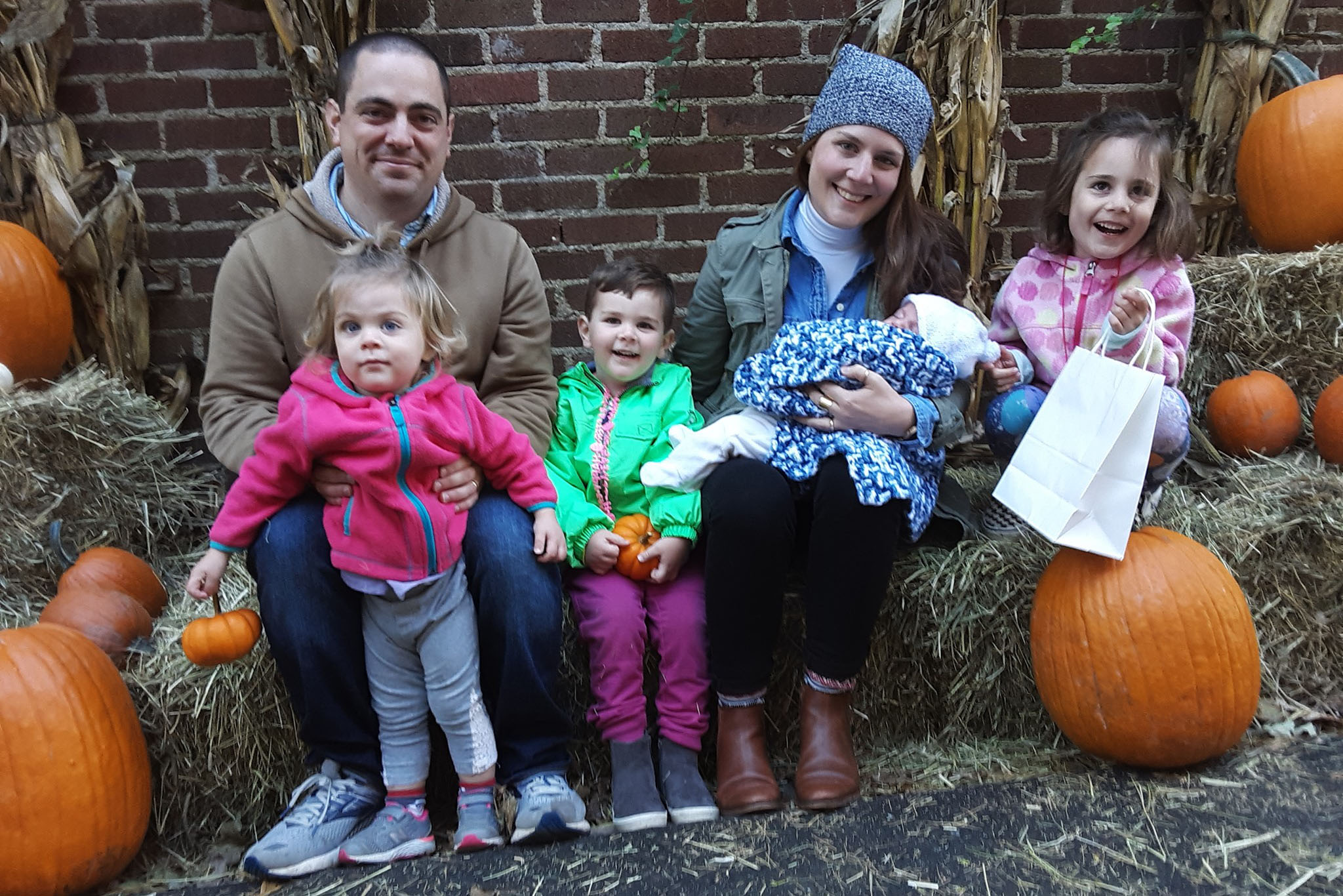 Caption: Former servicemember Stephen Kennedy, pictured with his wife Catherine and four children, sued after he received an other-than-honorable discharge from the Army., Credit: Courtesy Stephen Kennedy