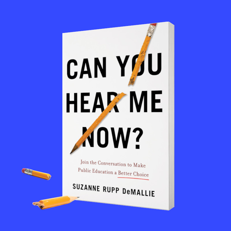 """Caption: Cover of the book """"Can You Hear Me Now?"""" by Suzanne DeMallie."""
