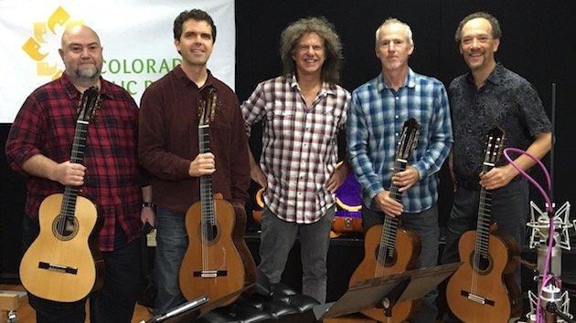 Caption: Pat Metheny and LA Guitar Quartet