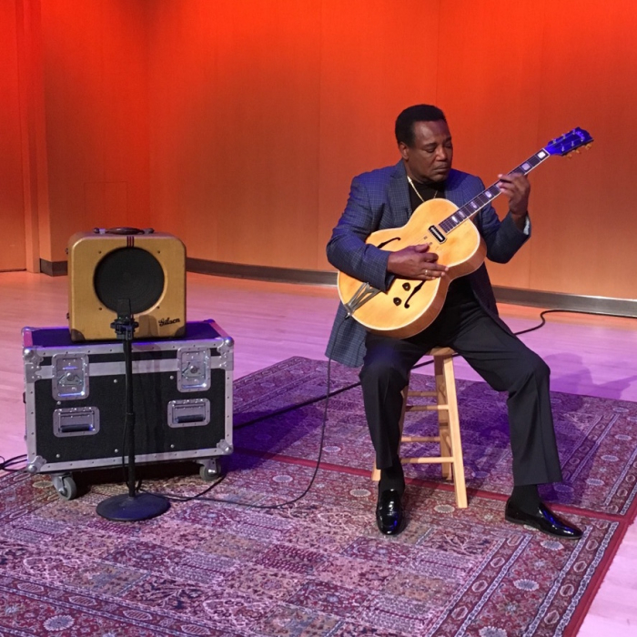 Caption: George Benson