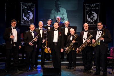Caption: Andrew Walesch and Sinatra Band, Credit: photo by Ian Walesch