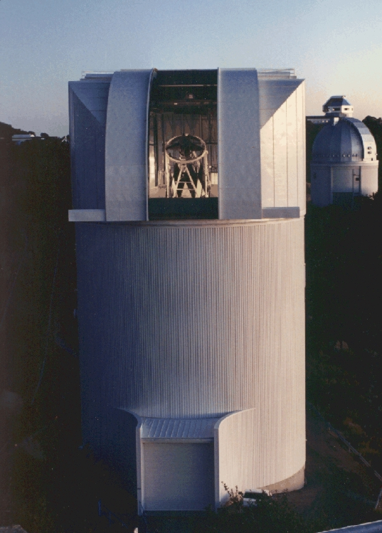 Caption: 90 Inch Bok Telescope, Credit: Steward Observatory