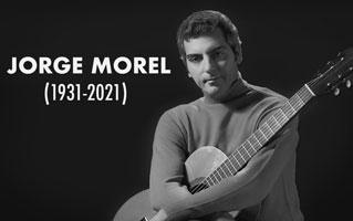 Caption: Guitarist Jorge Morel