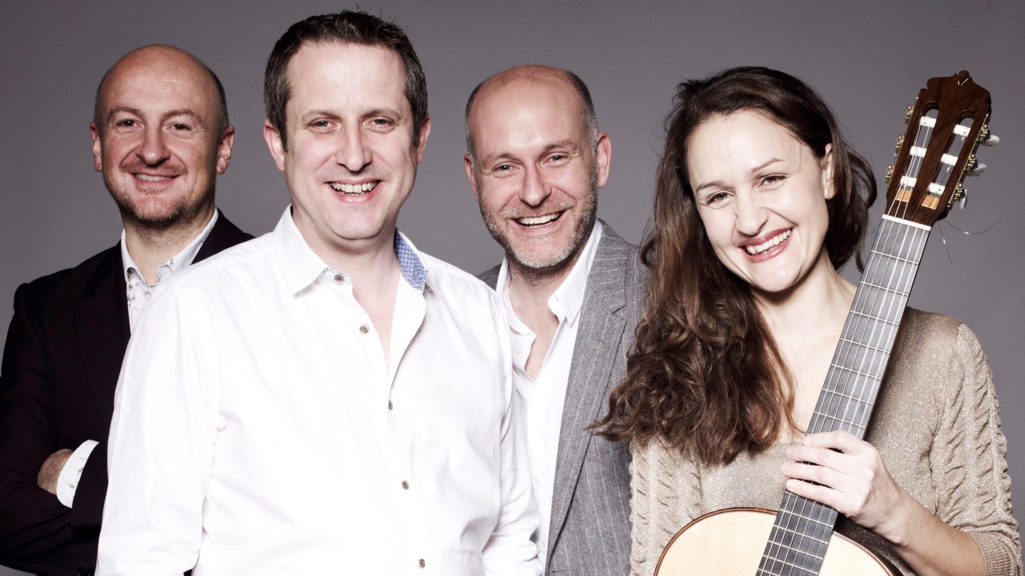 Caption: Vida Guitar Quartet, Credit: Vida Guitar Quartet