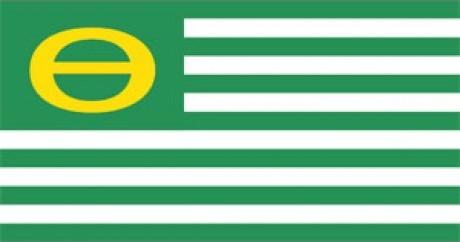 Caption: Ecology Flag