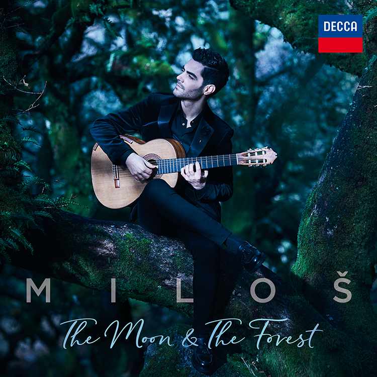 Caption: Moon and Forest CD by Milos Karadagalic, Credit: Decca Records