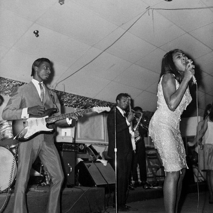 Caption: Ike and Tina Turner