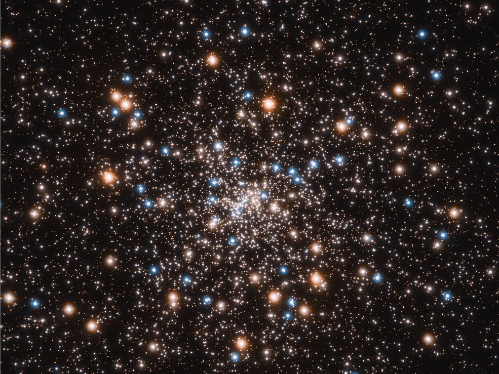 Caption: Hubble Image, Credit: NASA