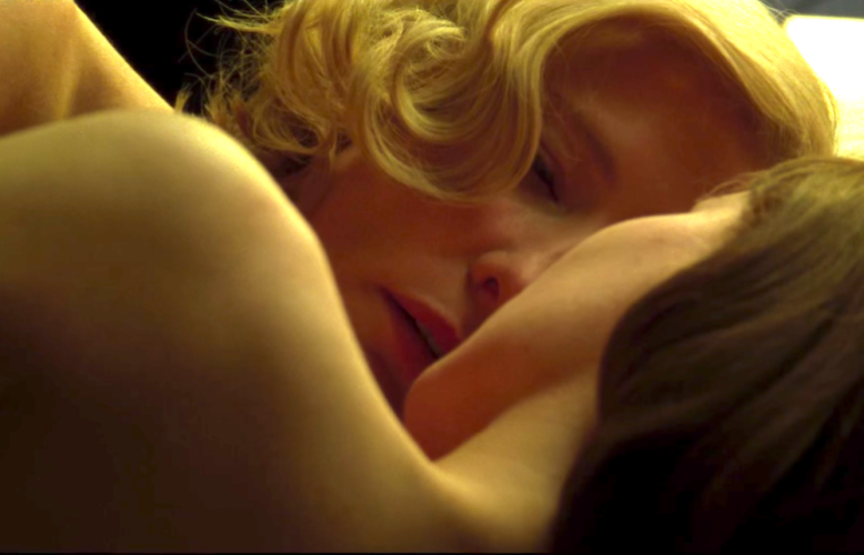 "Caption: A scene from the 2015 film ""Carol"" starring Cate Blanchett and Rooney Mara., Credit: The Weinstein Company"
