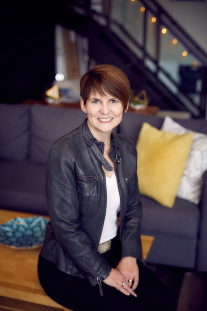 Caption: Liane Davey - The Watercooler Psychologist