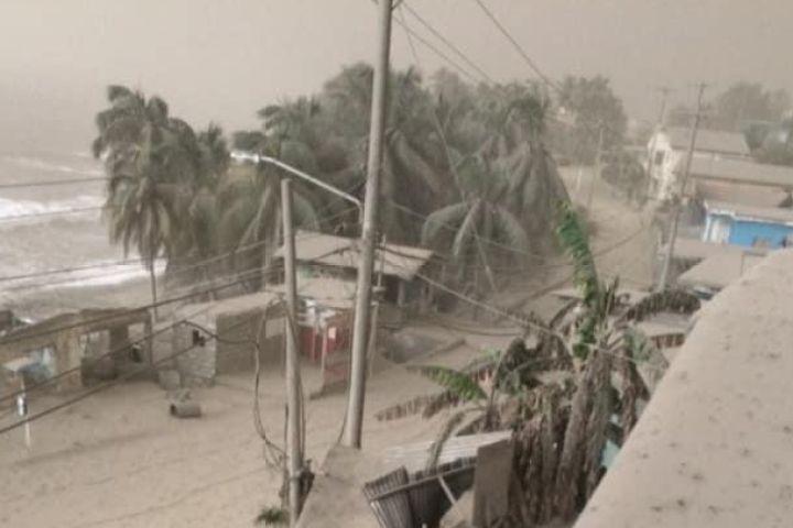 Caption: St. Vincent Volcano Relief Fund, Credit: Go Fund Me