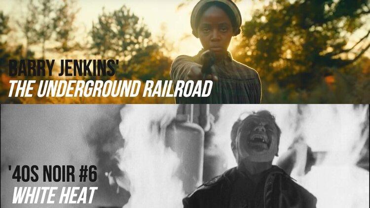Caption: The Underground Railroad / White Heat ('40s Noir #6)
