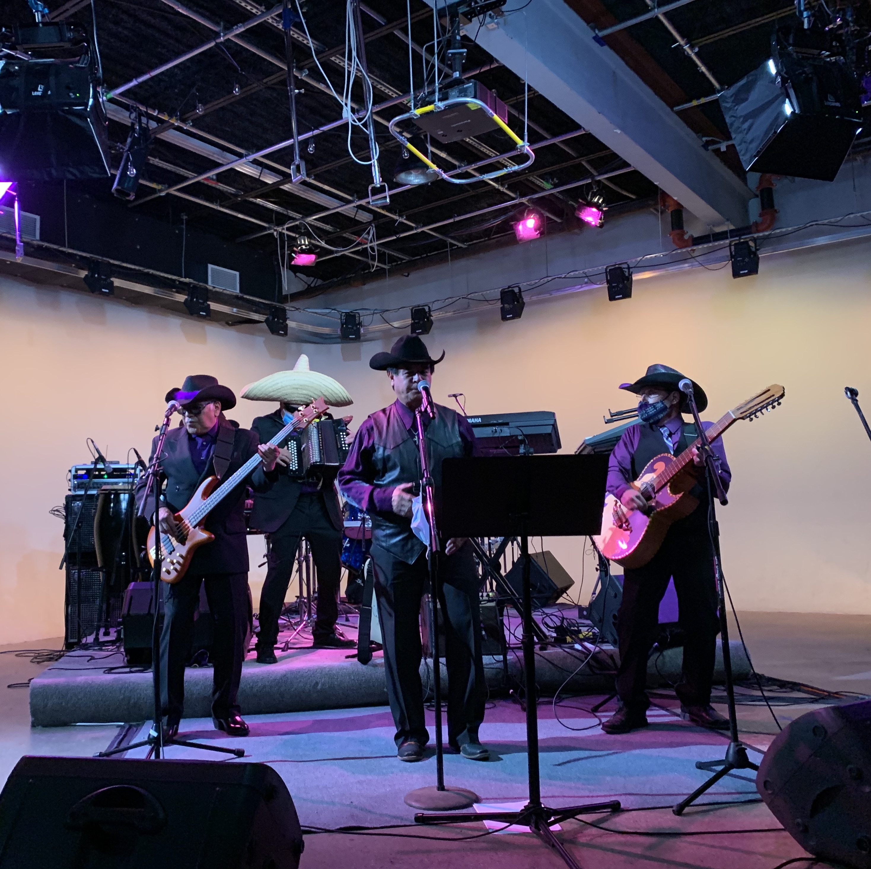 Caption: Grupo Mio performs at SPNN in St. Paul., Credit: Ryan Dawes