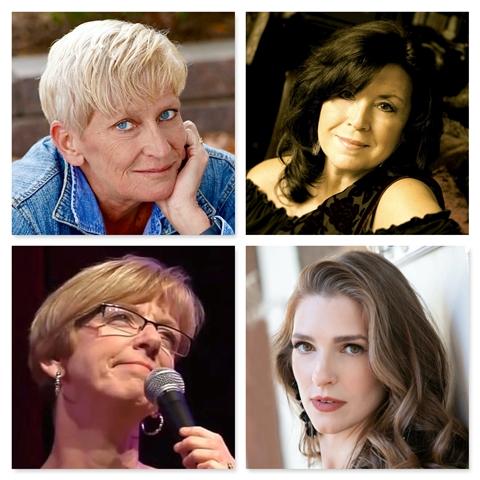 Caption: clockwise from upper left; Lori Dokken, Patty Peterson, Rachel Harder, Judy Vinar, Credit: Lori Dokken