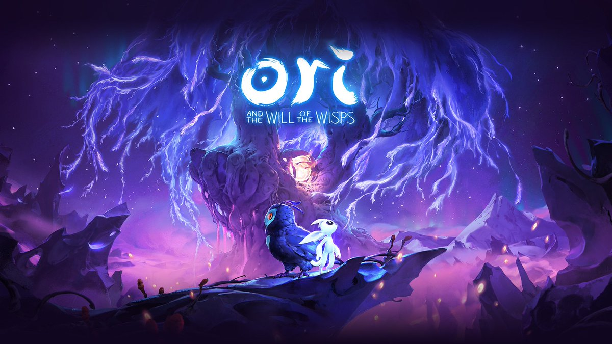 Caption: Cover art for Ori and the Will of the Wisps, a game scored by Gareth Coker.