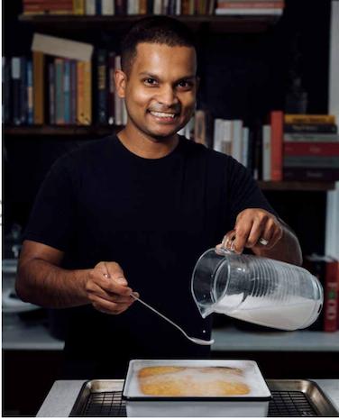 Caption: Nik Sharma author of the Flavor Equation