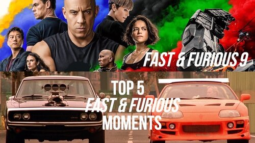 Caption: 'Fast & Furious 9' / Top 5 Fast & Furious Moments