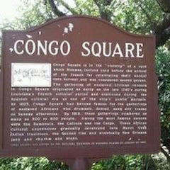 Caption: Congo Square