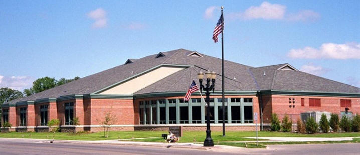 Caption: Campbell Public Library of East Grand Forks, MN