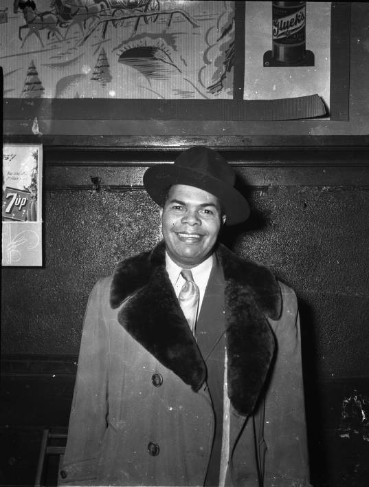 Caption: A.B. Cassius just after he was granted a liquor license for his cafe., Credit: Hennepin County Library and the children of John Glanton