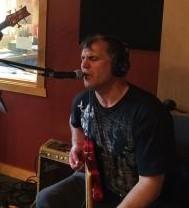 Caption: Pete K in Studio A in 2018
