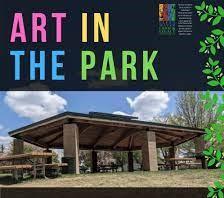 Caption: Art in Sherlock Park of East Grand Forks MN