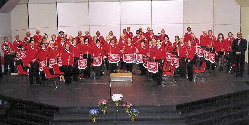 Caption: Roseville Community Band, Credit: Kathy Boldt