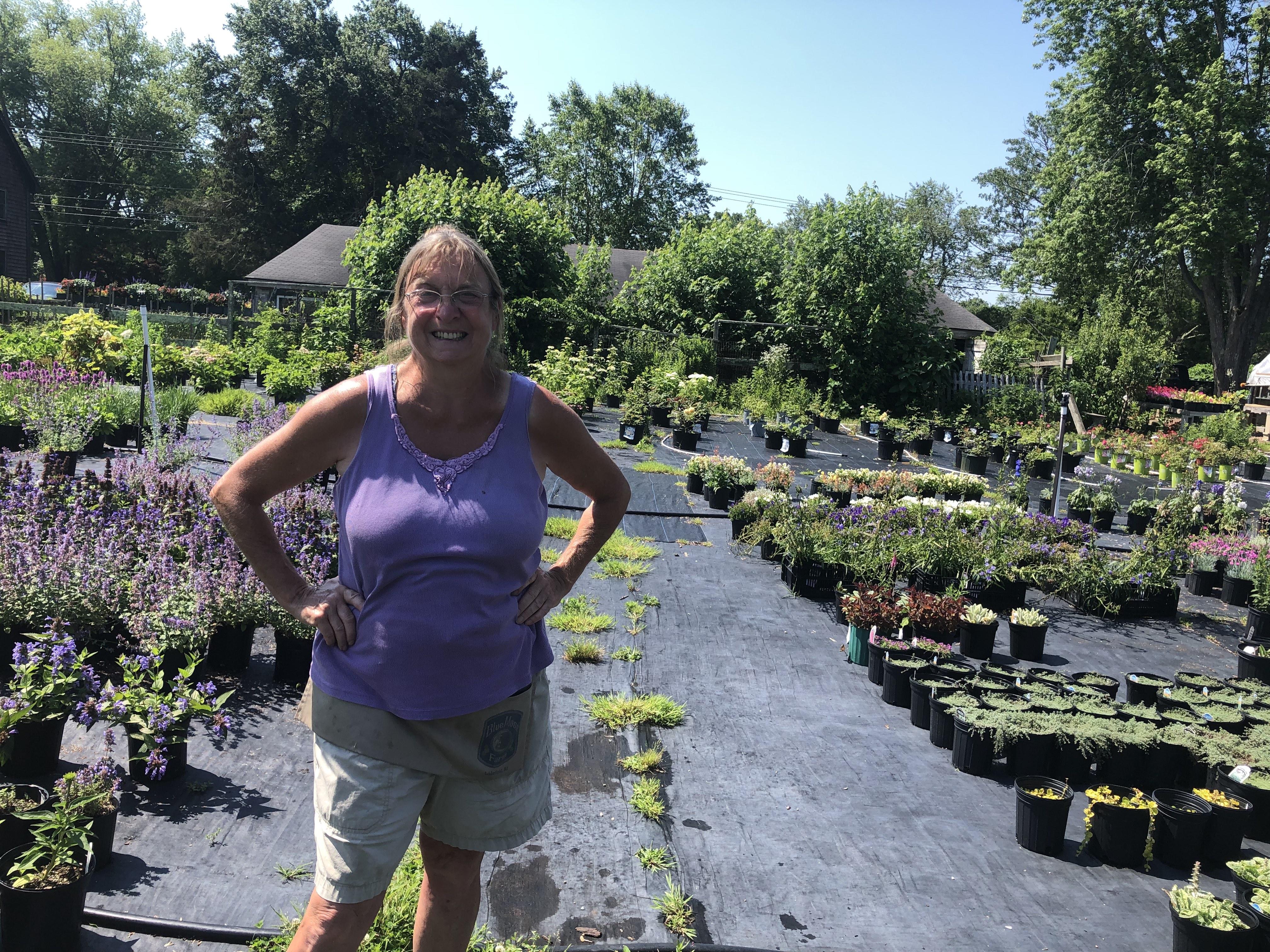 Caption: Jane Case of Blue Moon Farm, Credit: Megan Hall