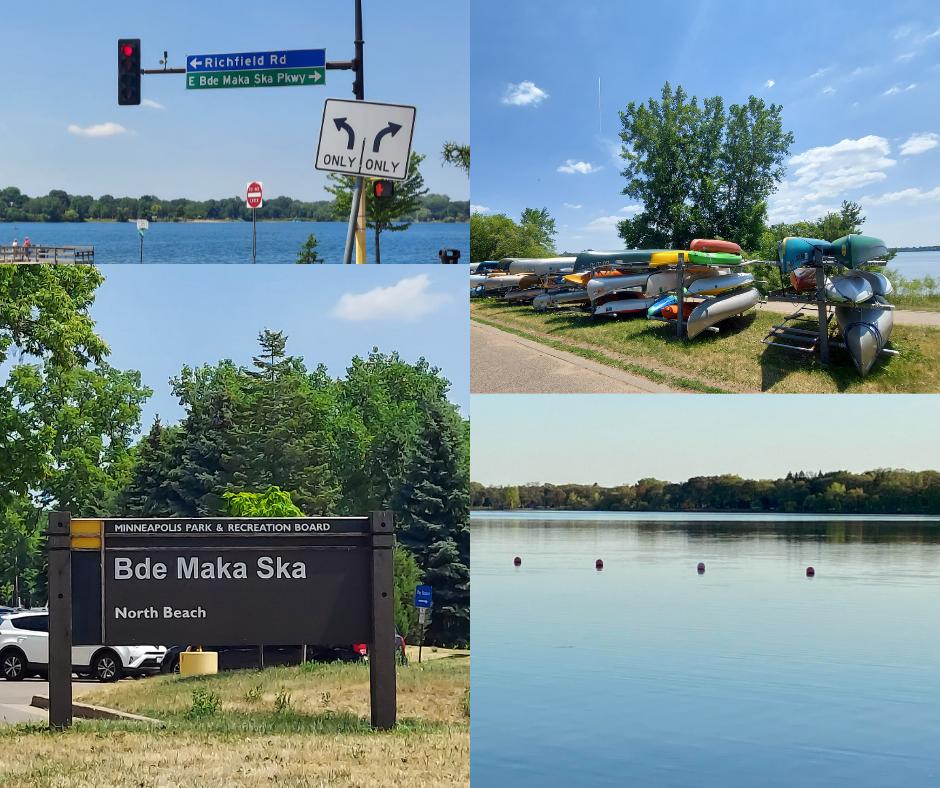 Caption: Summertime around Bde Maka Ska in Minneapolis, Credit: Photo courtesy of Kiin Adan and Melissa Olson