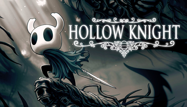 Caption: Cover art for the 2017 videogame Hollow Knight, scored by Christopher Larkin.