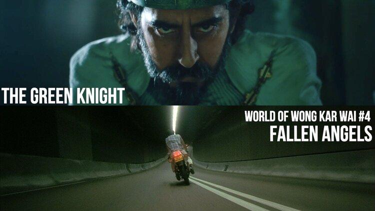Caption: The Green Knight / Fallen Angels
