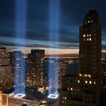 Caption: WTC Lights, September 11, 2010, Credit: Karl Stanton