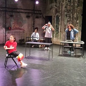 Caption: Tech rehearsal at The Southern