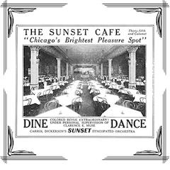 Caption: Sunset Cafe