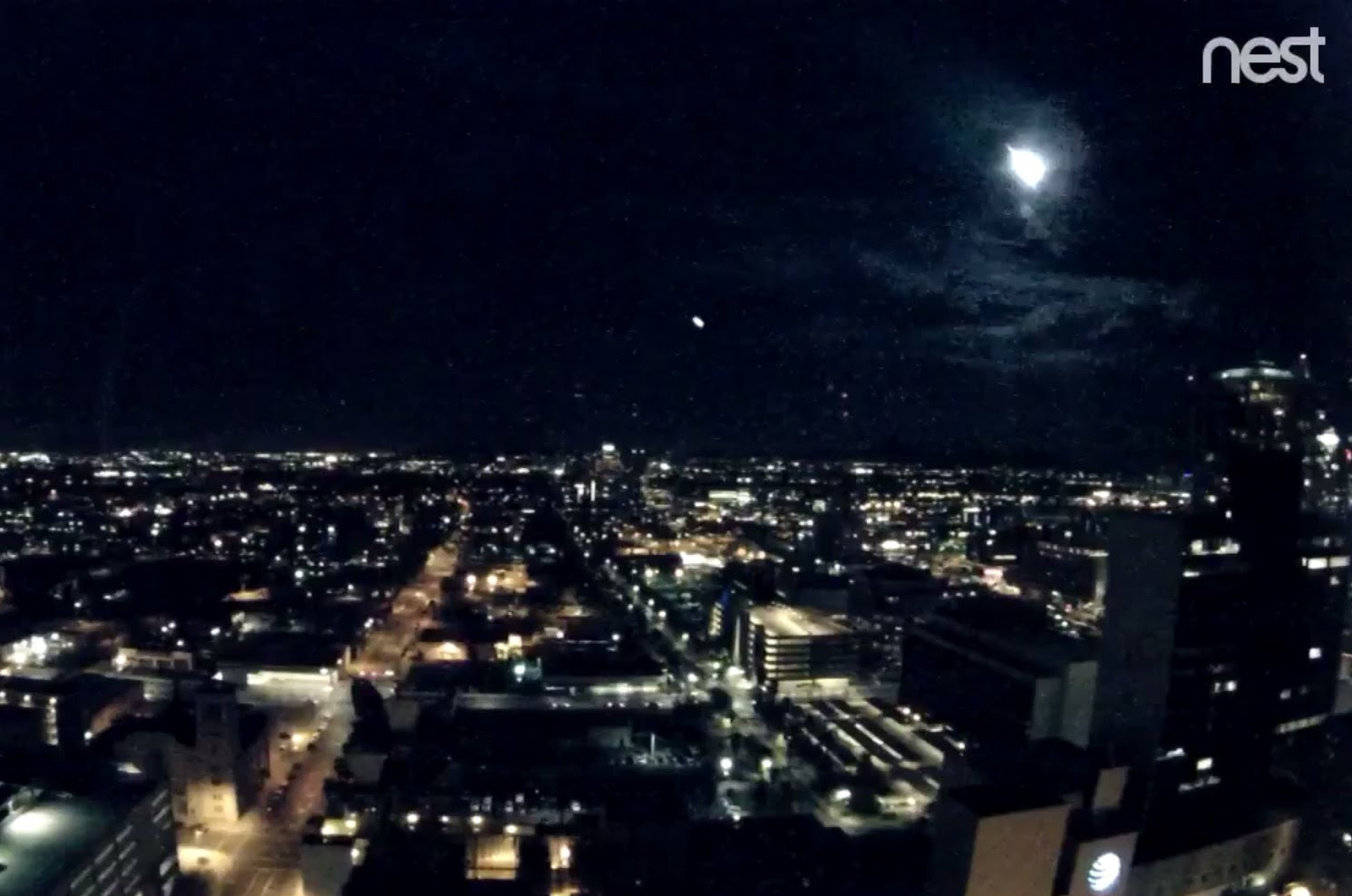 Caption: The Phoenix CityCam caught the flash of light around 8:30 p.m. on Nov. 14, 2017, Credit: City of Phoenix
