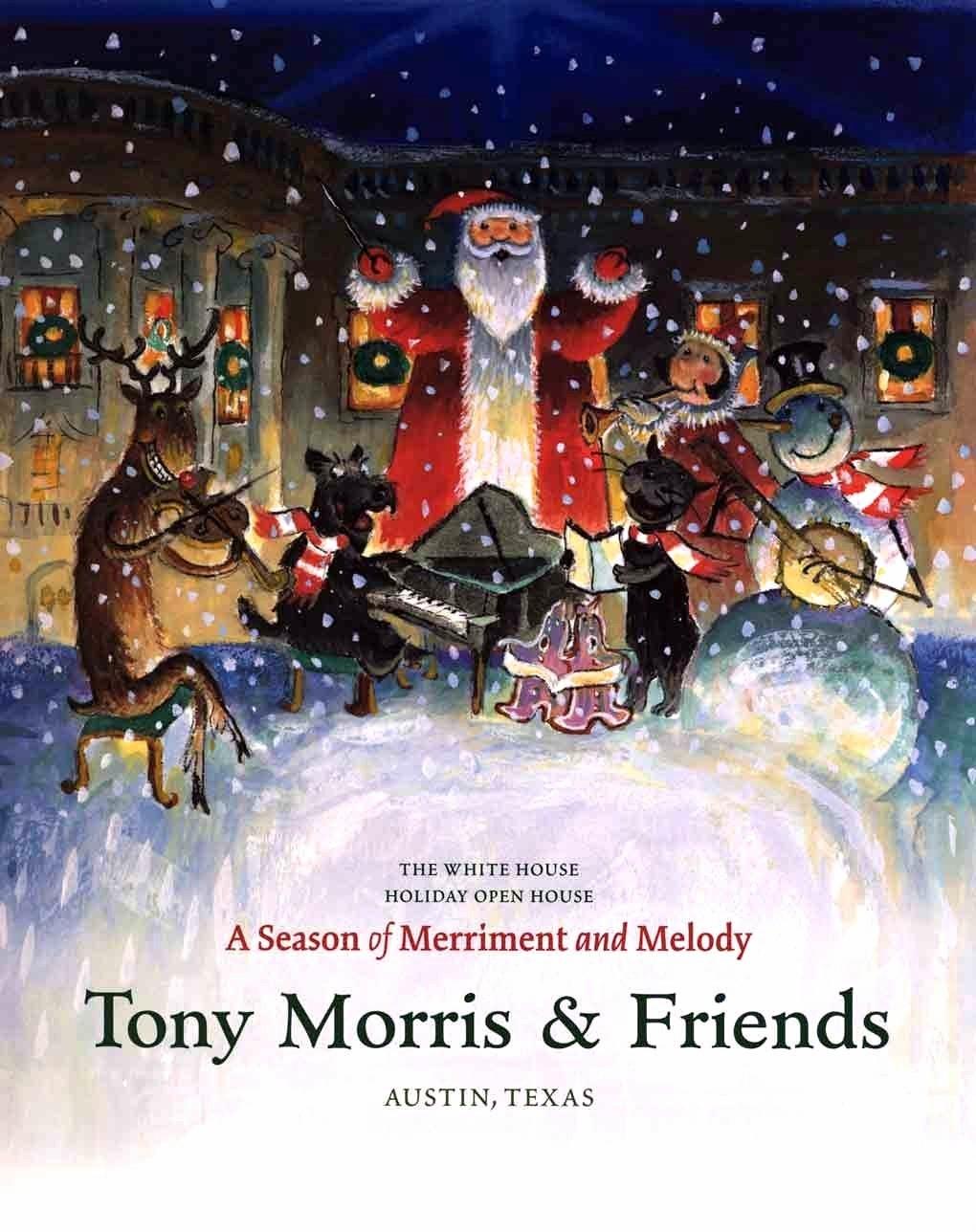 Caption: Tony Morris & Friends 2004 White House Christmas sign, Credit: Tony Morris