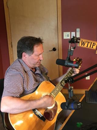Caption: Jim McGowan in Studio A in July 2019. Photo by Brian Neil.