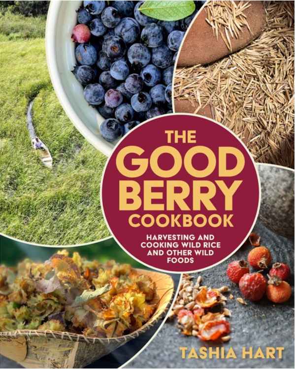 """Caption: Cover of """"The Good Berry Cookbook"""""""