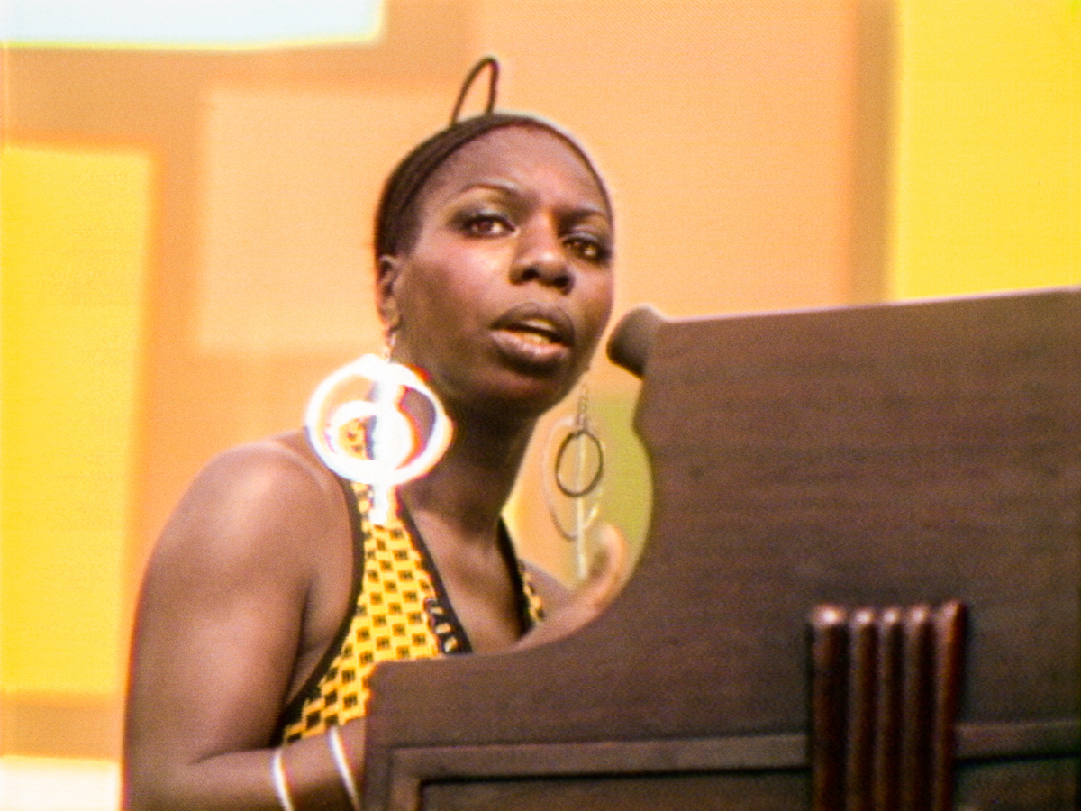 Caption: Nina Simone