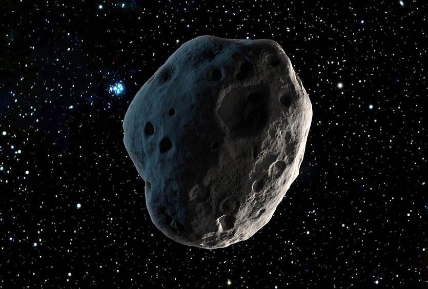 Caption: Asteroid Illustration, Credit: NASA/JPL-Caltech
