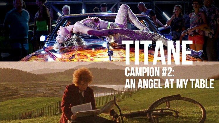 Caption: 'Titane' / 'An Angel At My Table'