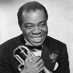 Caption: Louis Armstrong
