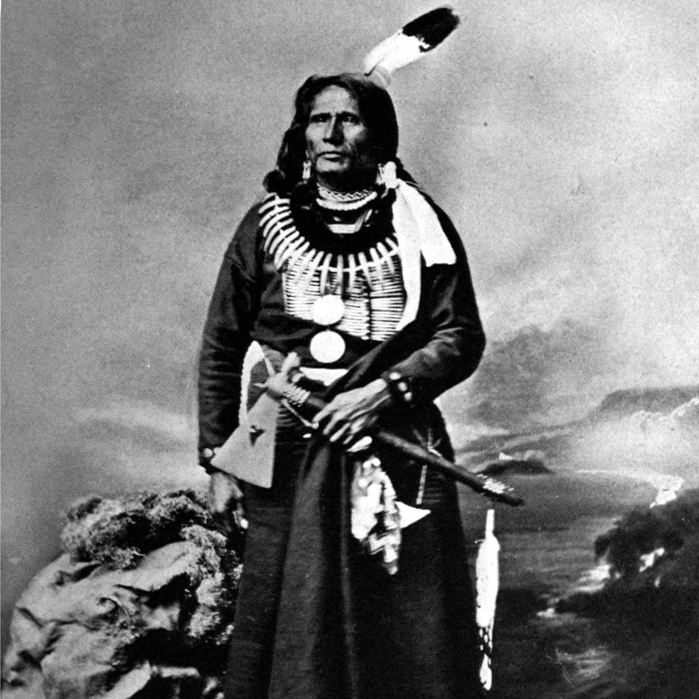 Caption: Chief Standing Bear